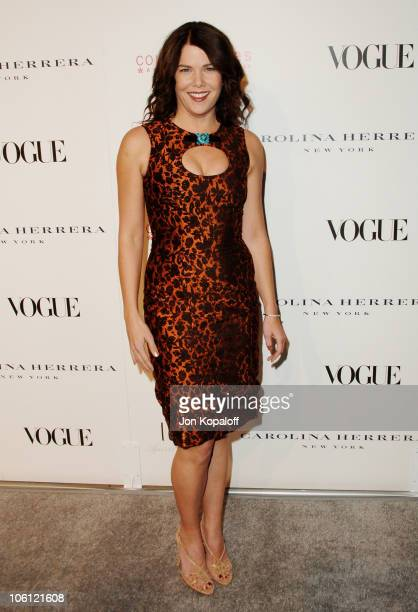 Lauren Graham during Carolina Herrera Los Angeles Boutique Opening Arrivals at Carolina Herrera in West Hollywood California United States