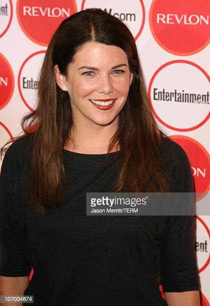 Lauren Graham during Entertainment Weekly's 4th Annual PreEmmy Party at Republic in West Hollywood California United States