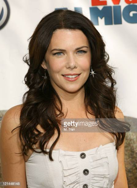 Lauren Graham during Evan Almighty World Premiere Presented by Universal Pictures at Universal Citywalk in Universal City California United States
