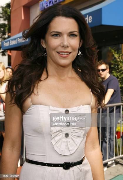 Lauren Graham during Evan Almighty World Premiere Presented by Universal Pictures Red Carpet and After Party at Universal Citywalk in Universal City...