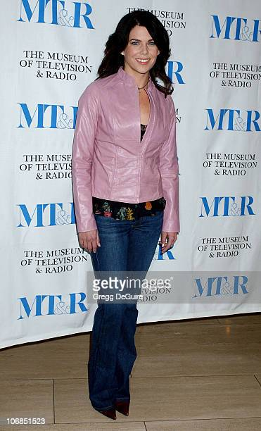 Lauren Graham during Gilmore Girls 100th Episode Celebration Presented by The Museum of Television Radio at The Museum of Television Radio in Beverly...