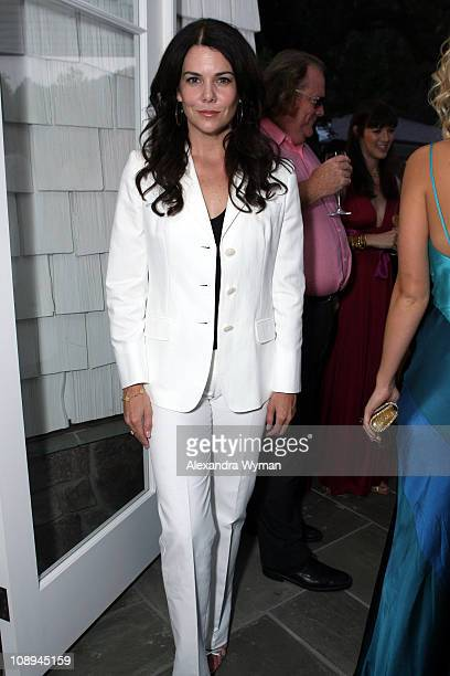 Lauren Graham during MaxMara Hosts a Dinner in Honor of Nicola Maramotti at Private Home in Los Angeles California United States