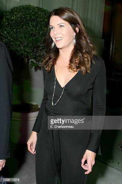 Lauren Graham during The CW Launch Party Inside at WB Main Lot in Burbank California United States