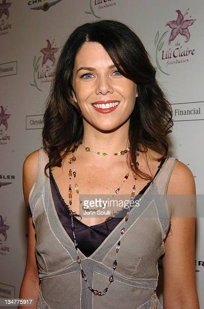 Lauren Graham during The Lili Claire Foundation's 7th Annual Benefit Gala Hosted by Matthew Perry Red Carpet at Century Plaza Hotel in Los Angeles...