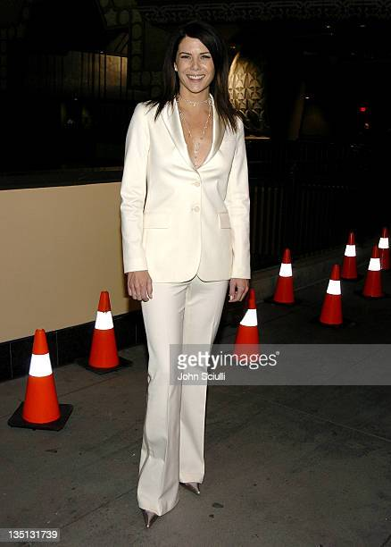 Lauren Graham during The Pacifier Los Angeles Premiere After Party in Los Angeles California United States