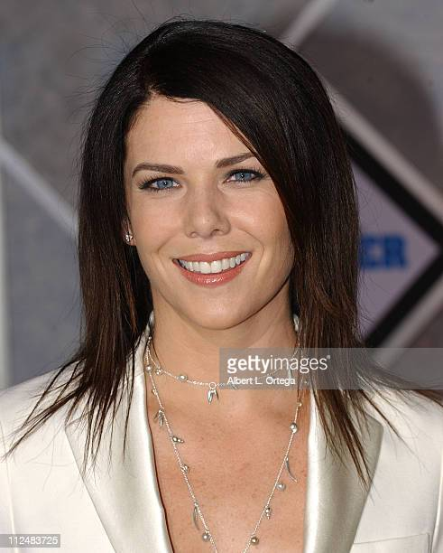"""Lauren Graham during """"The Pacifier"""" Los Angeles Premiere - Arrivals at The El Capitan in Hollywood, California, United States."""