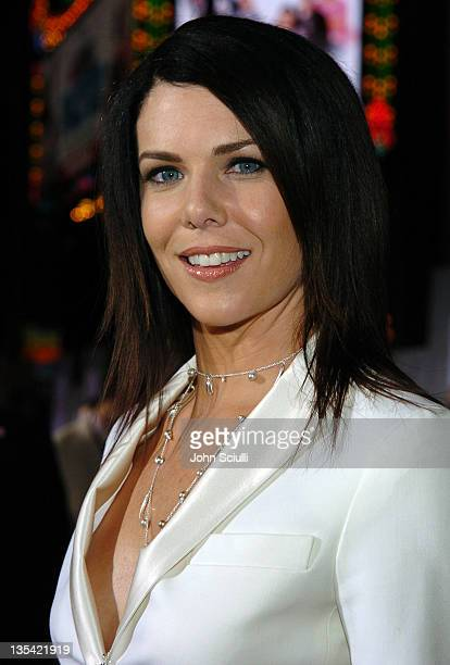 Lauren Graham during The Pacifier Los Angeles Premiere Red Carpet at El Capitan in Hollywood California United States