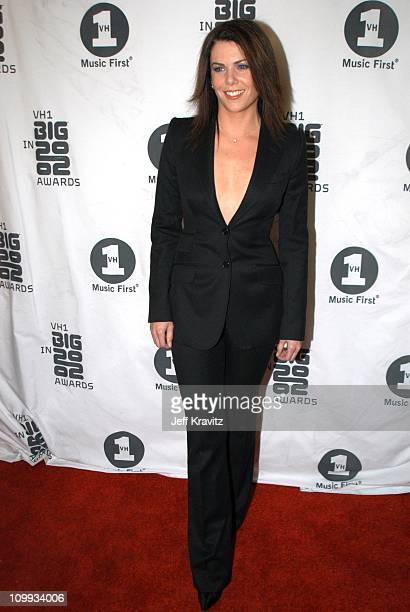 Lauren Graham during VH1 Big in 2002 Awards Arrivals at Grand Olympic Auditorium in Los Angeles CA United States