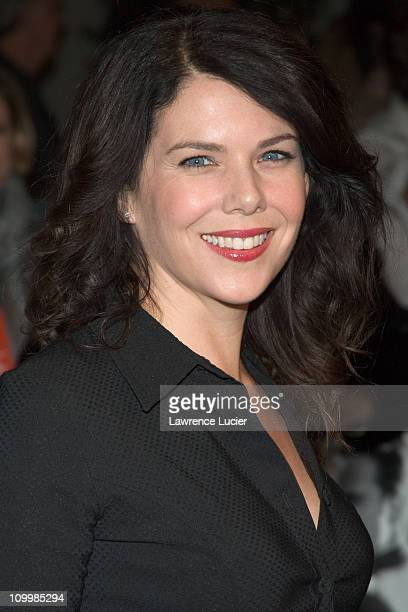 Lauren Graham during Walk the Line New York City Premiere Outside Arrivals at Beacon Theater in New York City New York United States