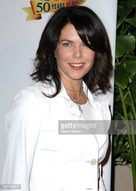 Lauren Graham during Warner Bros Television And Warner Home Video Celebrate 50 Years Of Quality TV Arrivals at Warner Bros Studio in Burbank...