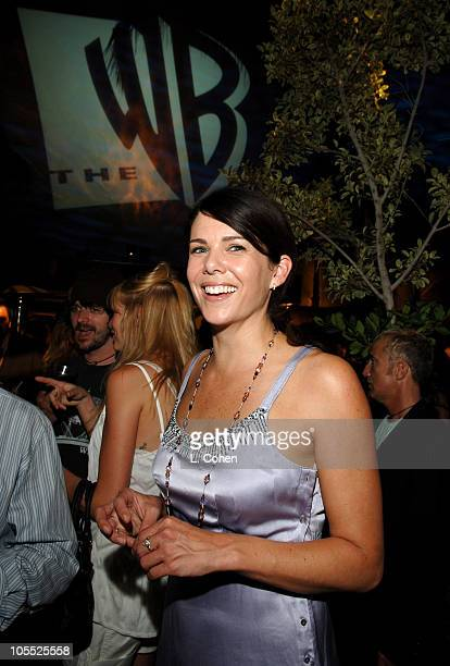 Lauren Graham of Gilmore Girls during 2005 WB Networks All Star Celebration Inside at The Cabana Club in Los Angeles California United States