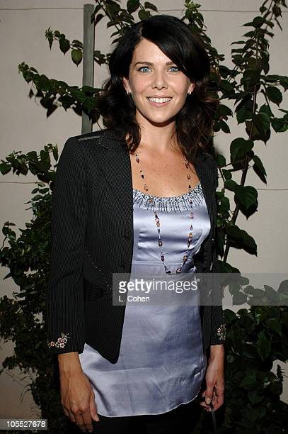 Lauren Graham of Gilmore Girls during 2005 WB Networks All Star Celebration Red Carpet at The Cabana Club in Los Angeles California United States