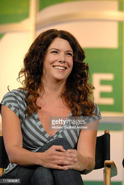 Lauren Graham of Gilmore Girls during The CW Summer 2006 TCA Press Tour at Ritz Carlton in Pasadena CA United States