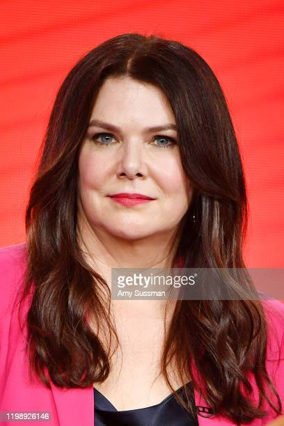 Lauren Graham of Zoey's Extrodinary Playlist speaks during the NBCUniversal segment of the 2020 Winter TCA Press Tour at The Langham Huntington...