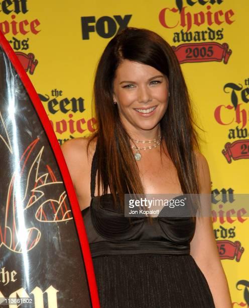 Lauren Graham winner of Choice TV Parental Unit for 'Gilmore Girls'