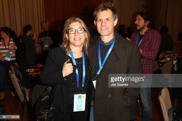 Lauren Greenfield and John Nein attend the 2018 Sundance Film Festival Directors Brunch at Sundance Resort on January 20 2018 in Provo Utah