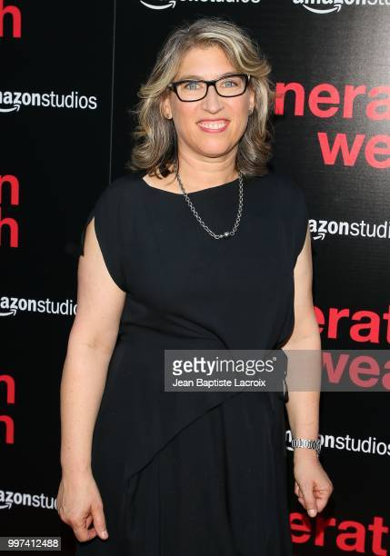 """Lauren Greenfield attends the premiere of Amazon Studios' """"Generation Wealth"""" on July 12, 2018 in Hollywood, California."""