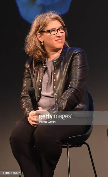 Lauren Greenfield speaks onstage at the Docs To Watch Roundtable during the 22nd SCAD Savannah Film Festival on November 01, 2019 at Lucas Theatre...