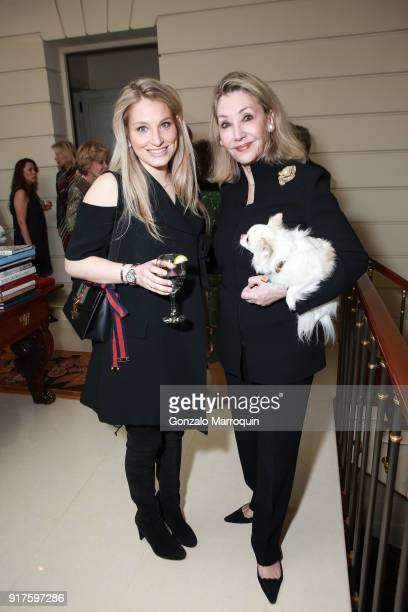 Lauren Gutfreund and Susan Gutfreund during the Susan Gutfreund Hosts UN Women For Peace Association Reception on February 12 2018 in New York City