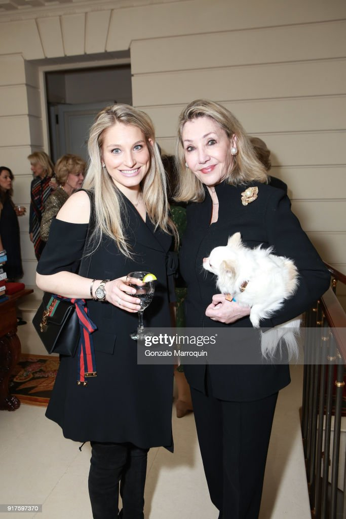 Lauren Gutfreund and Susan Gutfreund during the Susan Gutfreund Hosts UN Women For Peace Association Reception on February 12, 2018 in New York City.