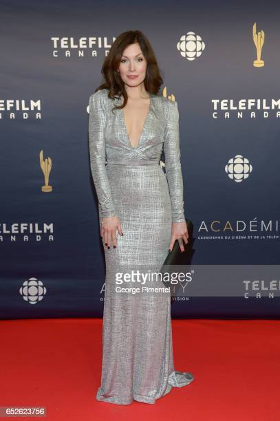 Lauren Hammersley attends 2017 Canadian Screen Awards at Sony Centre For Performing Arts on March 12 2017 in Toronto Canada