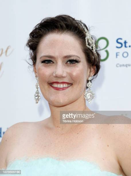 Lauren Hammersley attends the St Baldrick's Foundation 3rd annual Ever After Ball at CBS Studio Center on August 25 2018 in Studio City California