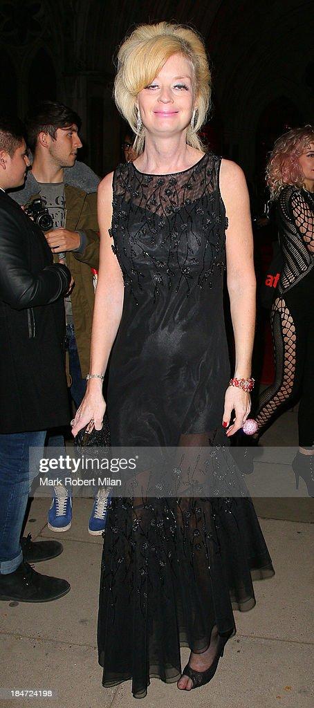 Lauren Harries attending the Attitude Magazine Awards on October 15, 2013 in London, England.