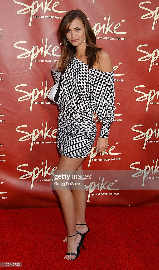 Launch of Spike TV at the Playboy Mansion : News Photo