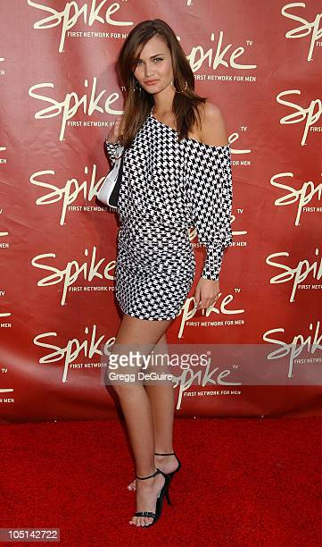 Lauren Hill during Launch of Spike TV at the Playboy Mansion at Playboy Mansion in Los Angeles California United States