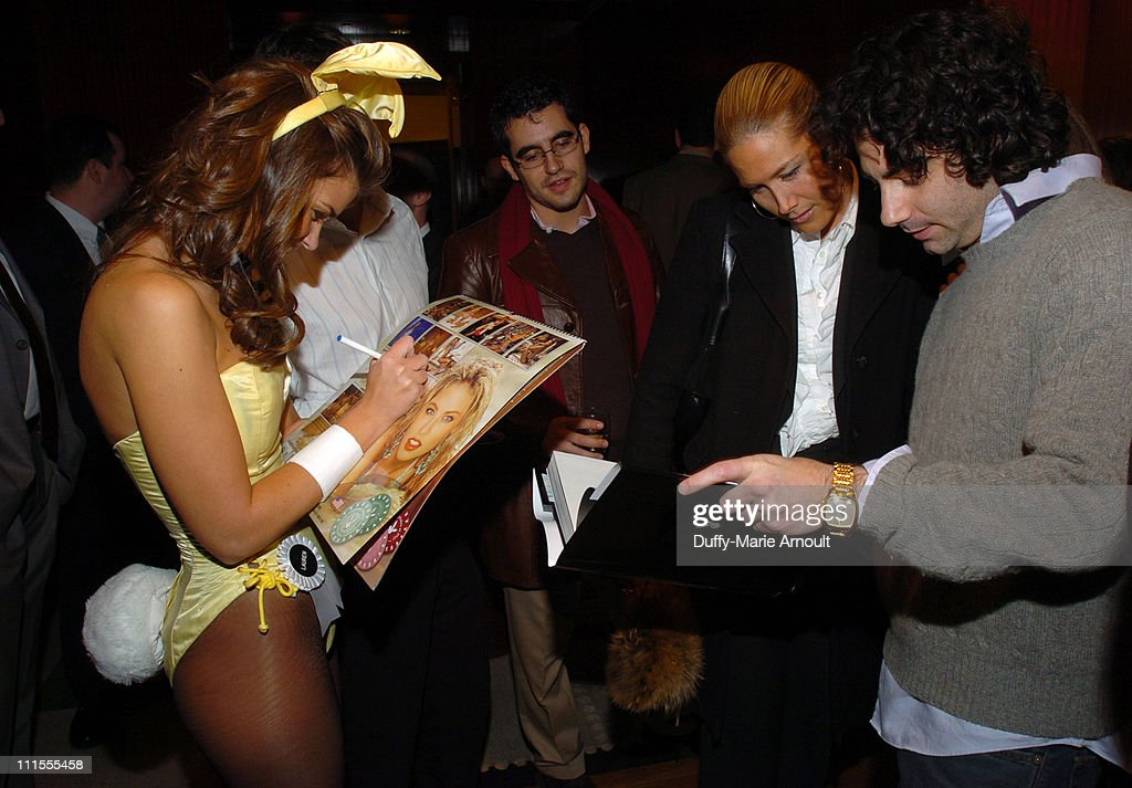 "Saks Fifth Avenue and Playboy Invite You to ""Shop With a Bunny"" - December 7, 2005 : News Photo"