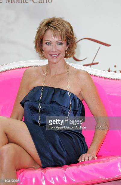 Lauren Holly during 2007 Monte Carlo Television Festival NCIS Lauren Holly Photocall at Grimaldi Forum in Monte Carlo France