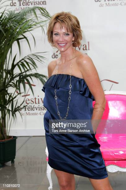 """Lauren Holly during 2007 Monte Carlo Television Festival - """"NCIS"""" Lauren Holly Photocall at Grimaldi Forum in Monte Carlo, France."""