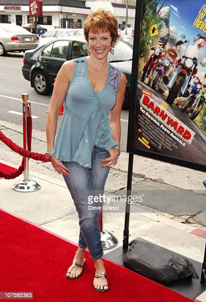 Lauren Holly during Barnyard World Premiere Arrivals at Cinerama Dome in Hollywood California