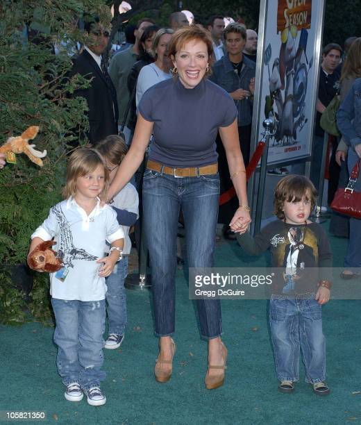 Lauren Holly during Open Season Los Angeles Premiere Arrivals at Greek Theatre in Los Angeles California United States