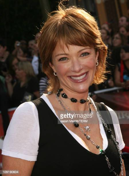 Lauren Holly during Pirates of the Caribbean At World's End World Premiere Arrivals at Disneyland in Anaheim California United States