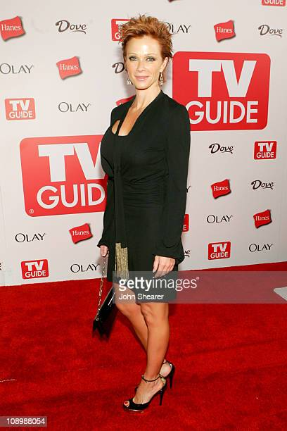 Lauren Holly during TV Guide Emmy After Party Red Carpet at Social in Los Angeles California United States
