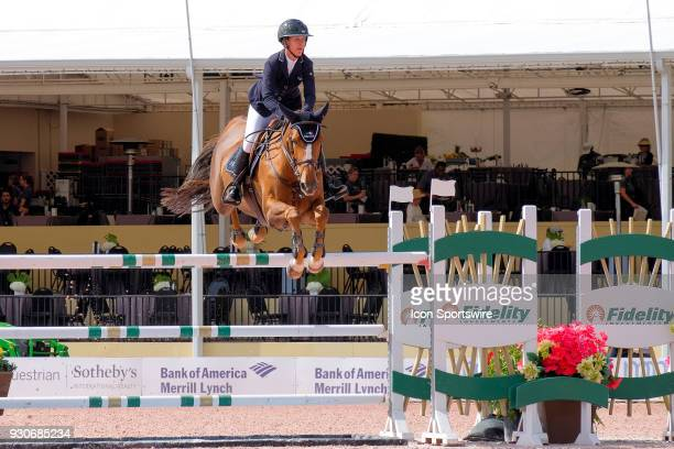 Lauren Hough during the $70000 Hollow Creek 150M Classic at the Winter Equestrian Festival at The Palm Beach International Equestrian Center in...