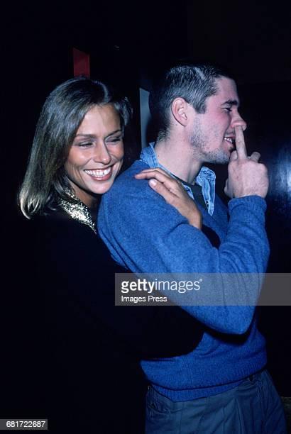 Lauren Hutton and Richard Gere goofing around circa 1980 in New York City