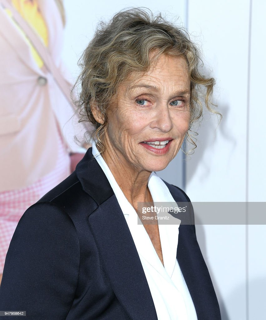 Lauren Hutton arrives at the Premiere Of STX Films' 'I Feel Pretty' at Westwood Village Theatre on April 17, 2018 in Westwood, California.