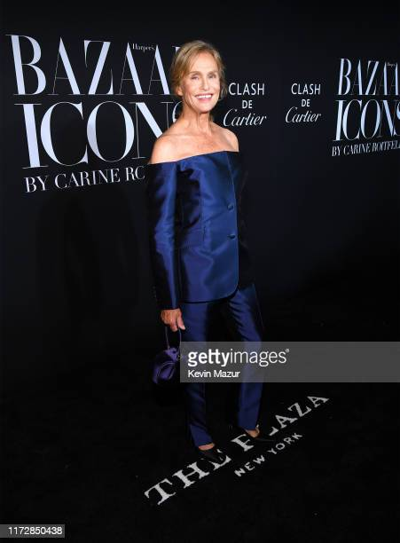 Lauren Hutton attends as Harper's BAZAAR celebrates ICONS By Carine Roitfeld at The Plaza Hotel presented by Cartier Arrivals on September 06 2019 in...