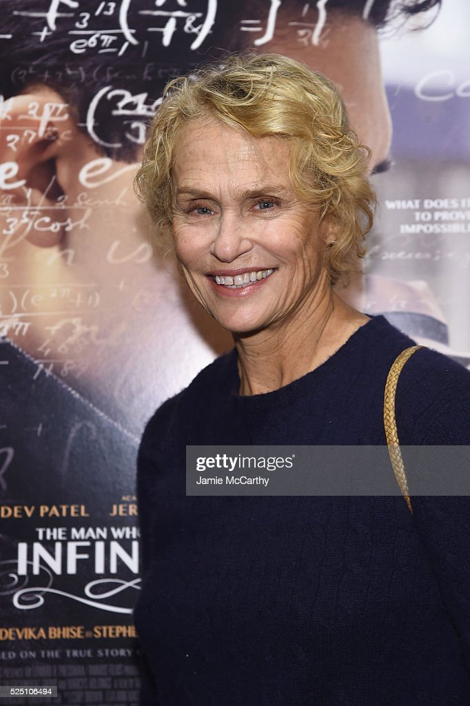 Lauren Hutton attends 'The Man Who Knew Infinity' New York Screening at Chelsea Bow Tie Cinemas on April 27, 2016 in New York City.