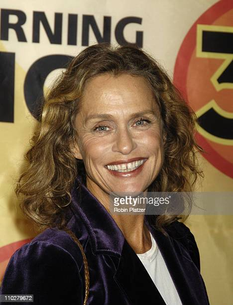 Lauren Hutton during 'Good Morning America' 30th Anniversary Celebration at Avery Fisher Hall in New York City New York United States