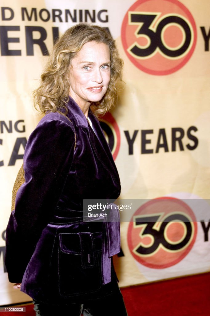 Lauren Hutton during 'Good Morning America' 30th Anniversary Celebration at Lincoln Center in New York City, New York, United States.