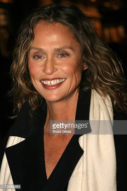 Lauren Hutton during Monty Python's 'Spamalot' Opening Night on Broadway Arrivals at The Shubert Theater in New York City New York United States