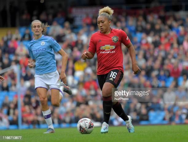 Lauren James during English FA Women's Super League match between Manchester City and Manchester United at City of Manchester Stadium Manchester...