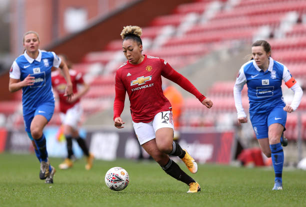 GBR: Manchester United Women v Birmingham City Women - Barclays FA Women's Super League