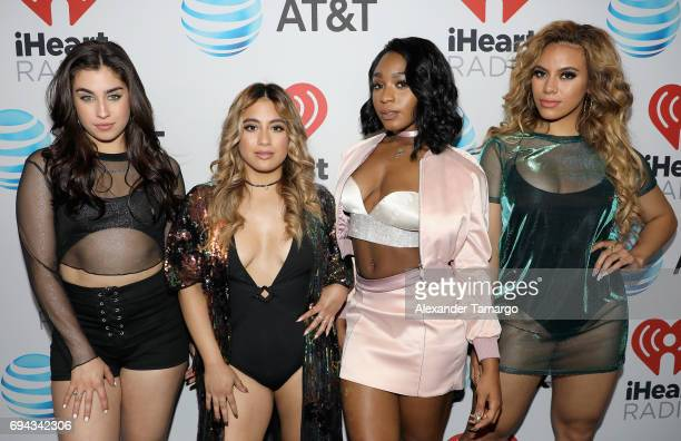 Lauren Jauregui Ally Brooke Hernandez Normani Kordei and Dinah Jane Hansen of Fifth Harmony attend the iHeartSummer '17 Weekend hosted by ATT at...