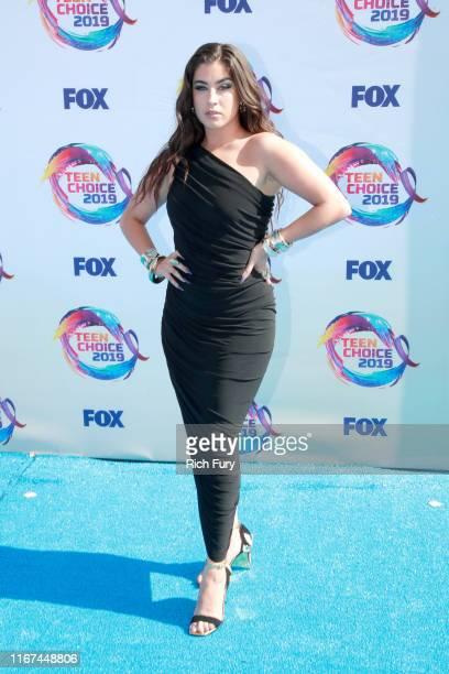 Lauren Jauregui attends FOX's Teen Choice Awards 2019 on August 11 2019 in Hermosa Beach California