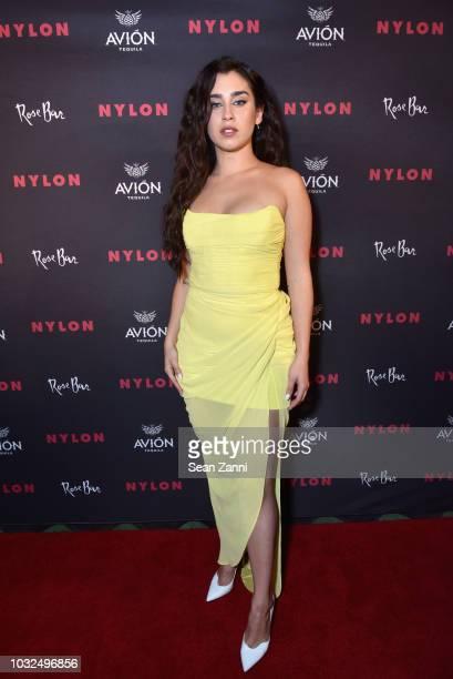 Lauren Jauregui attends NYLON's Annual Rebel Fashion Party at Gramercy Park Hotel Rose Bar at Gramercy Park Hotel on September 12 2018 in New York...