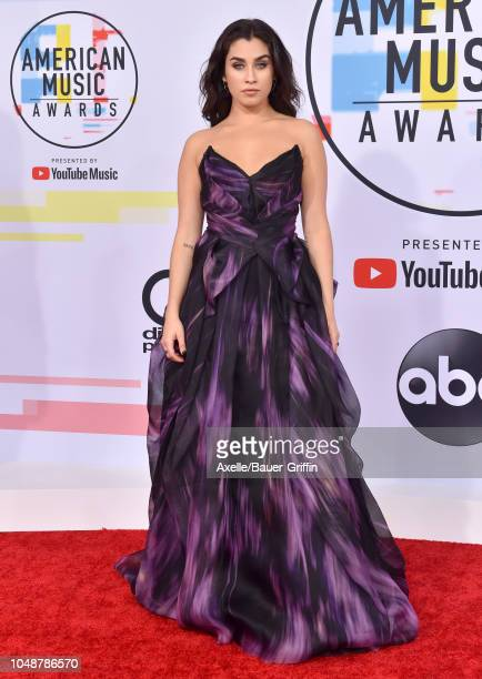 Lauren Jauregui attends the 2018 American Music Awards at Microsoft Theater on October 9 2018 in Los Angeles California